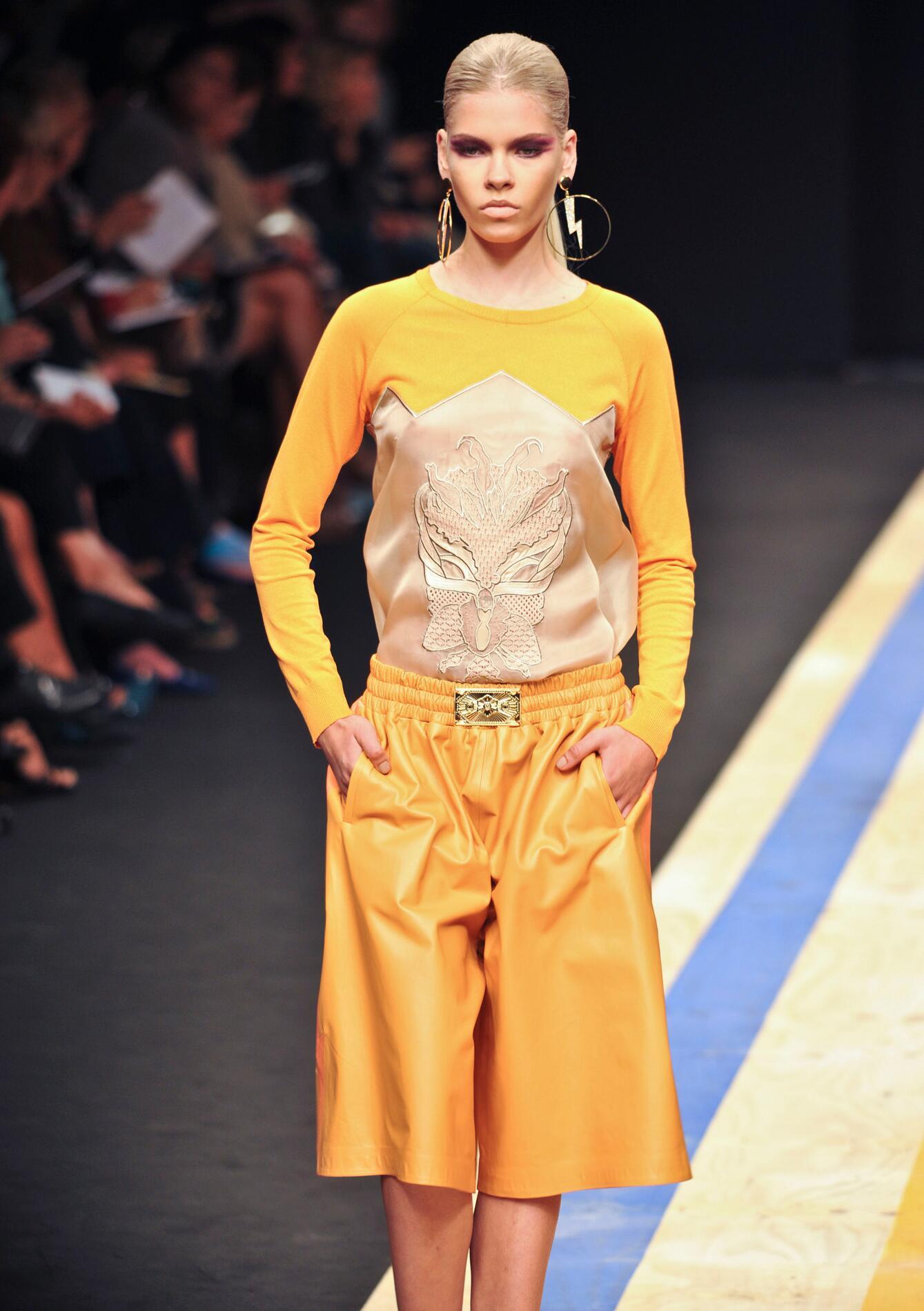 Woman Frankie Morello Spring 2013 Dress
