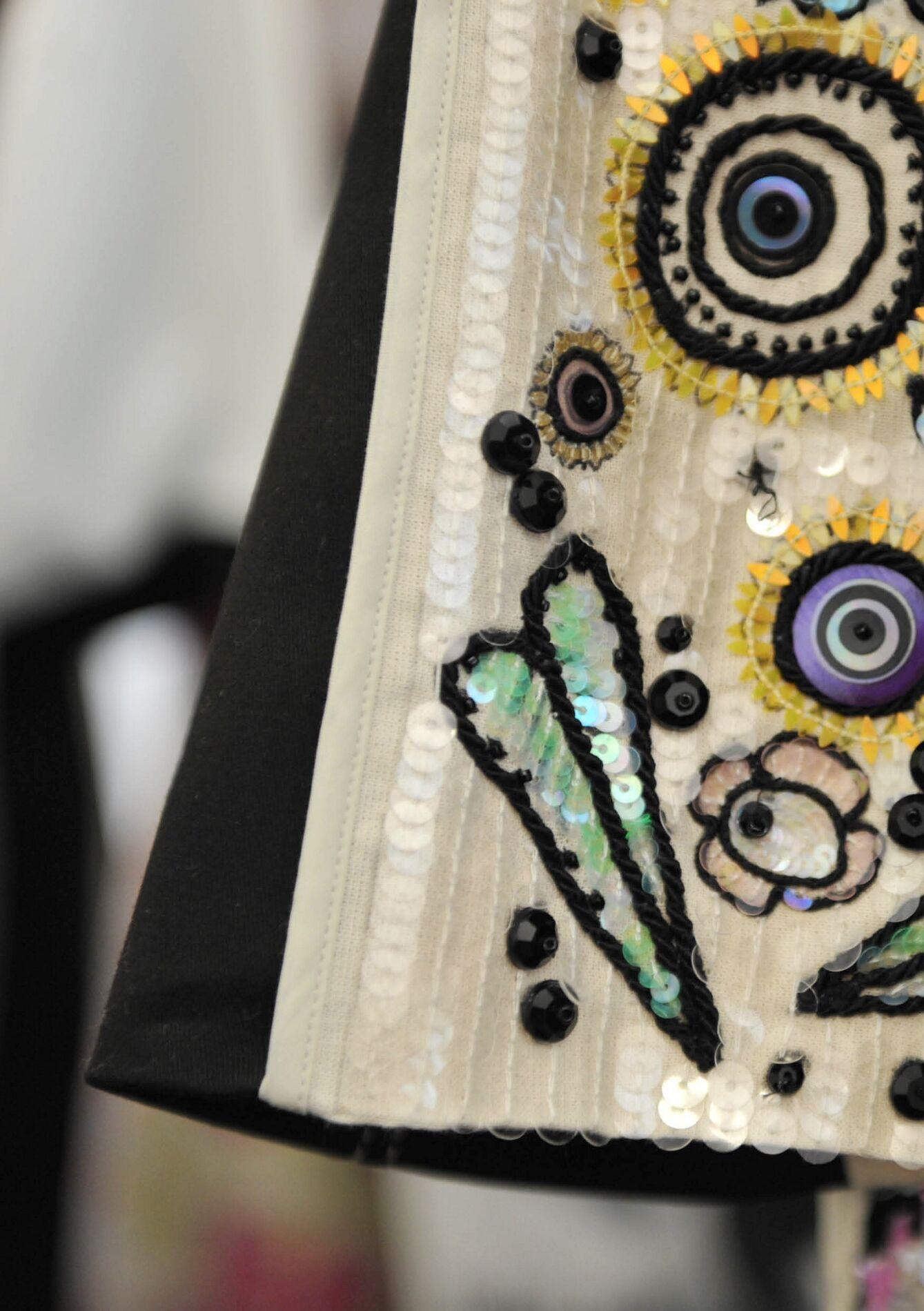 Antonio Marras Backstage Dress Detail