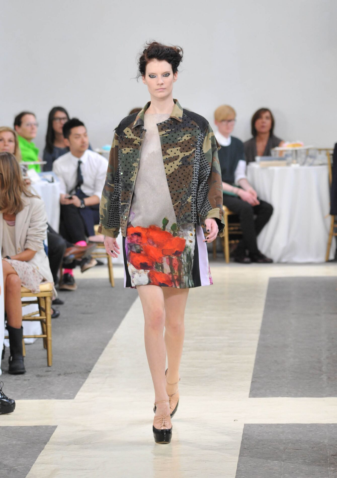 Antonio Marras Fashion Show Summer 2013 Model
