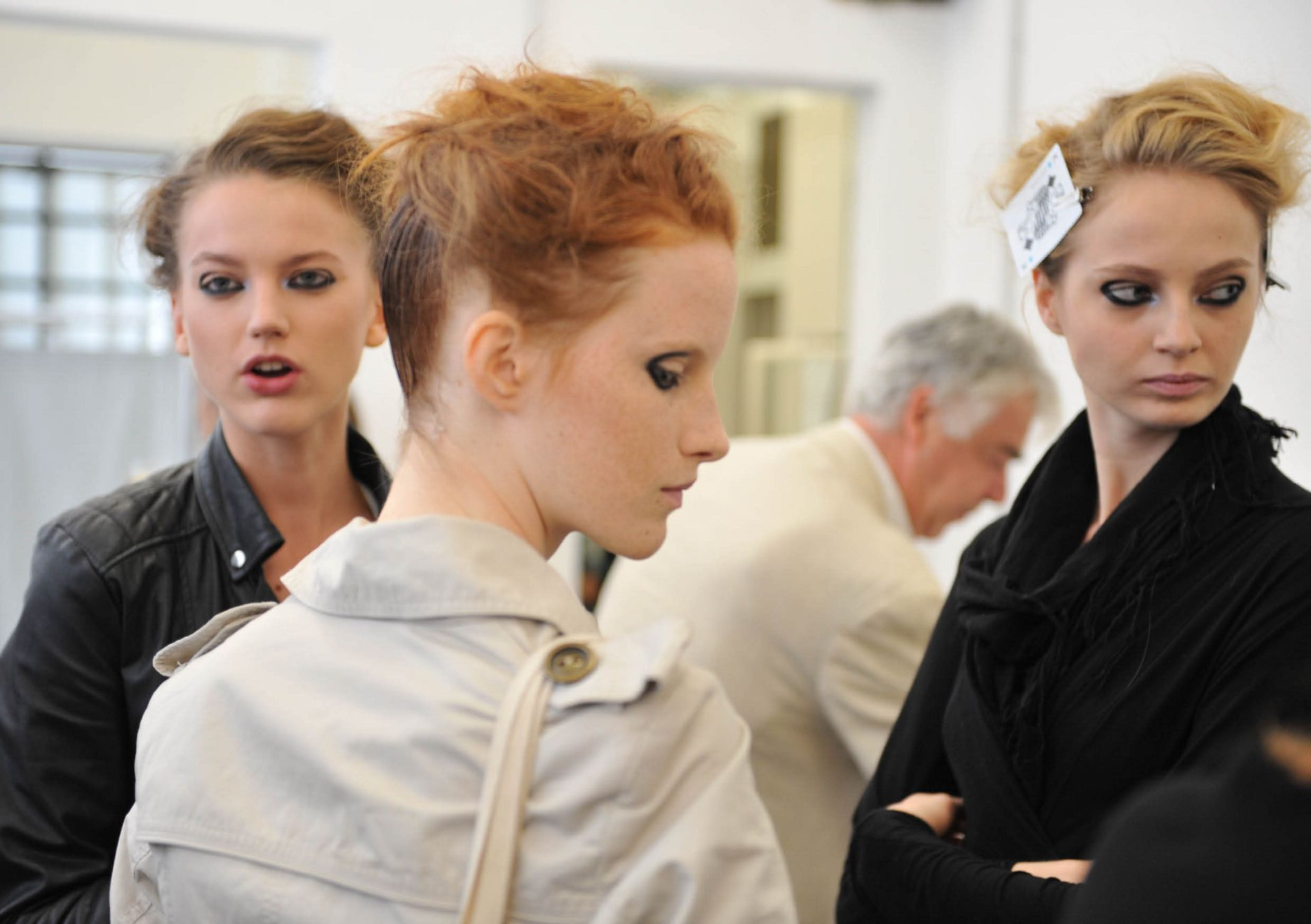 Backstage Antonio Marras SS 2013