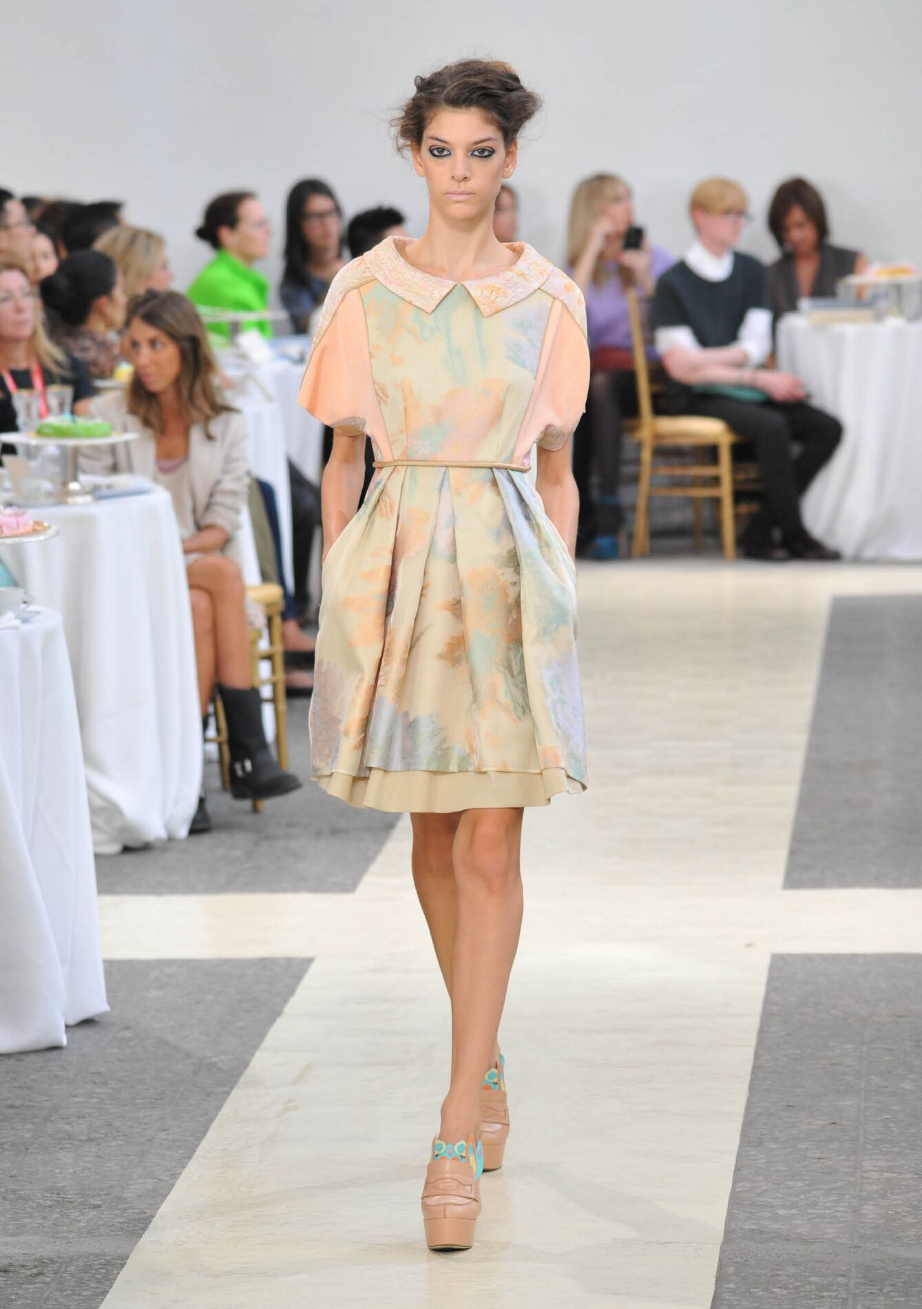 Fashion Woman Model Antonio Marras Catwalk