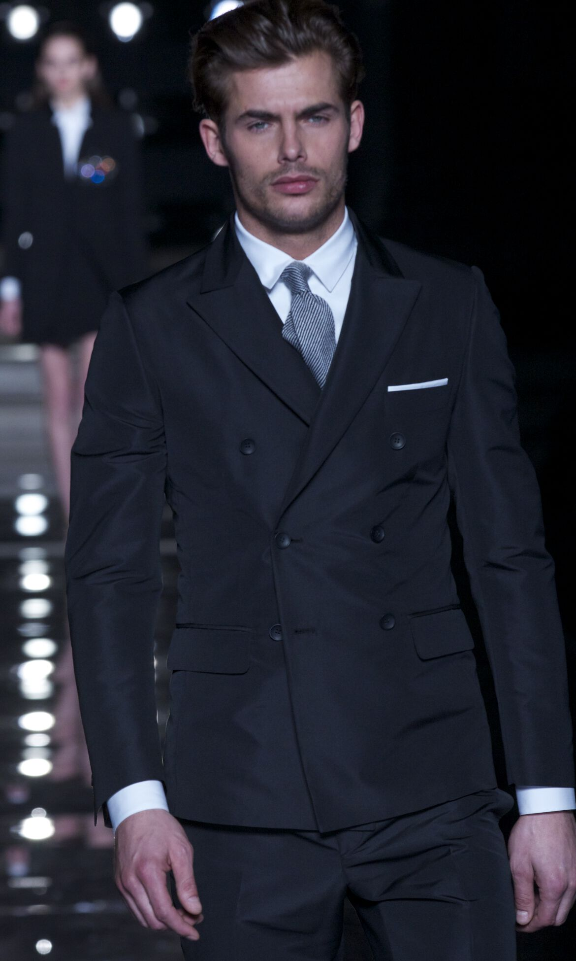 Catwalk Ermanno Scervino Fashion Show Winter 2013 14 Menswear