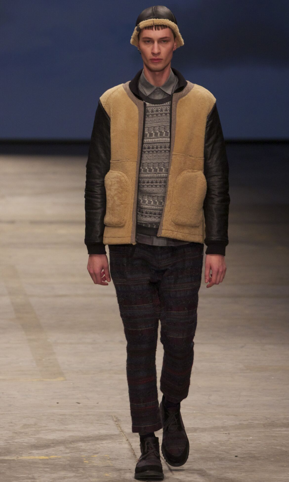 Catwalk White Mountaineering Fashion Show Winter 2013 Menswear