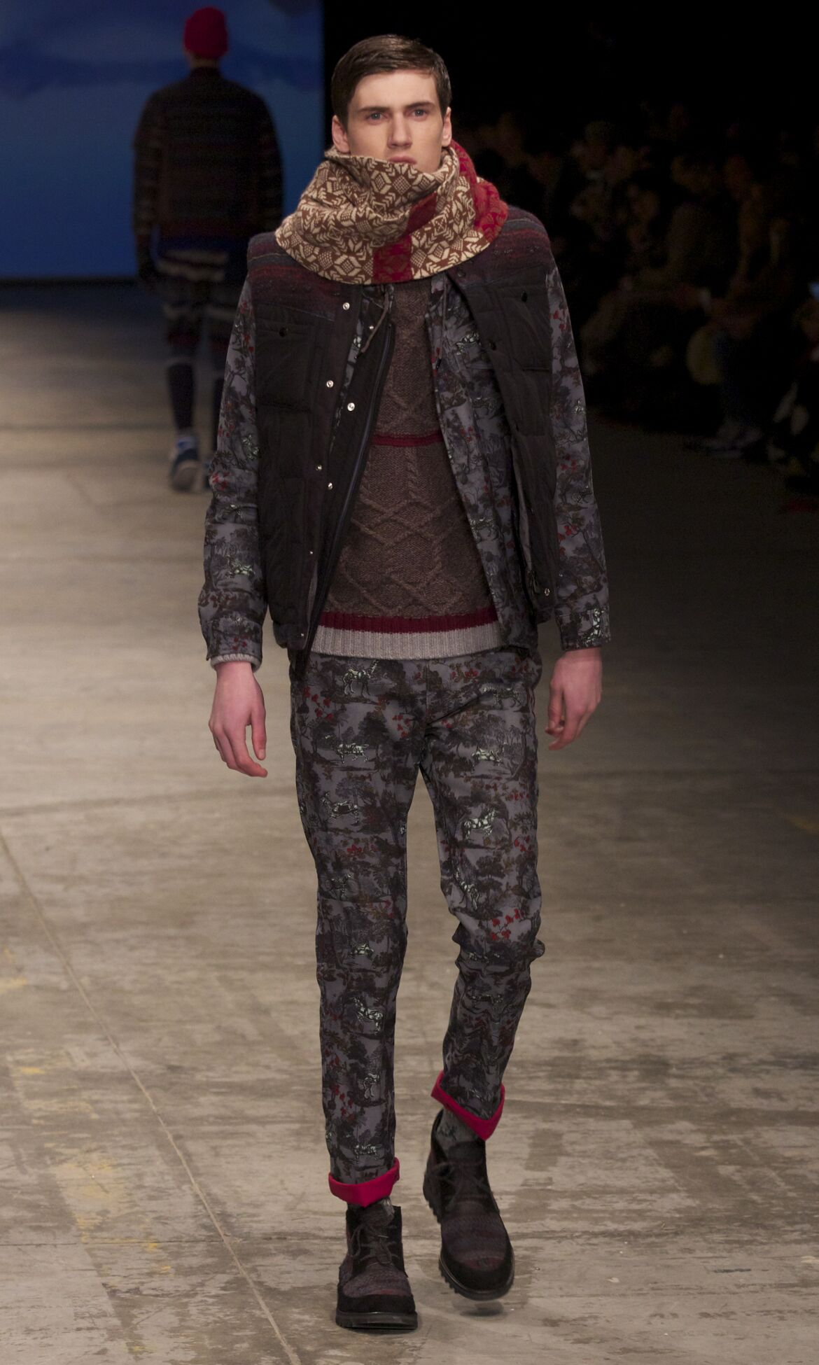 Catwalk White Mountaineering Fashion Show Winter 2013