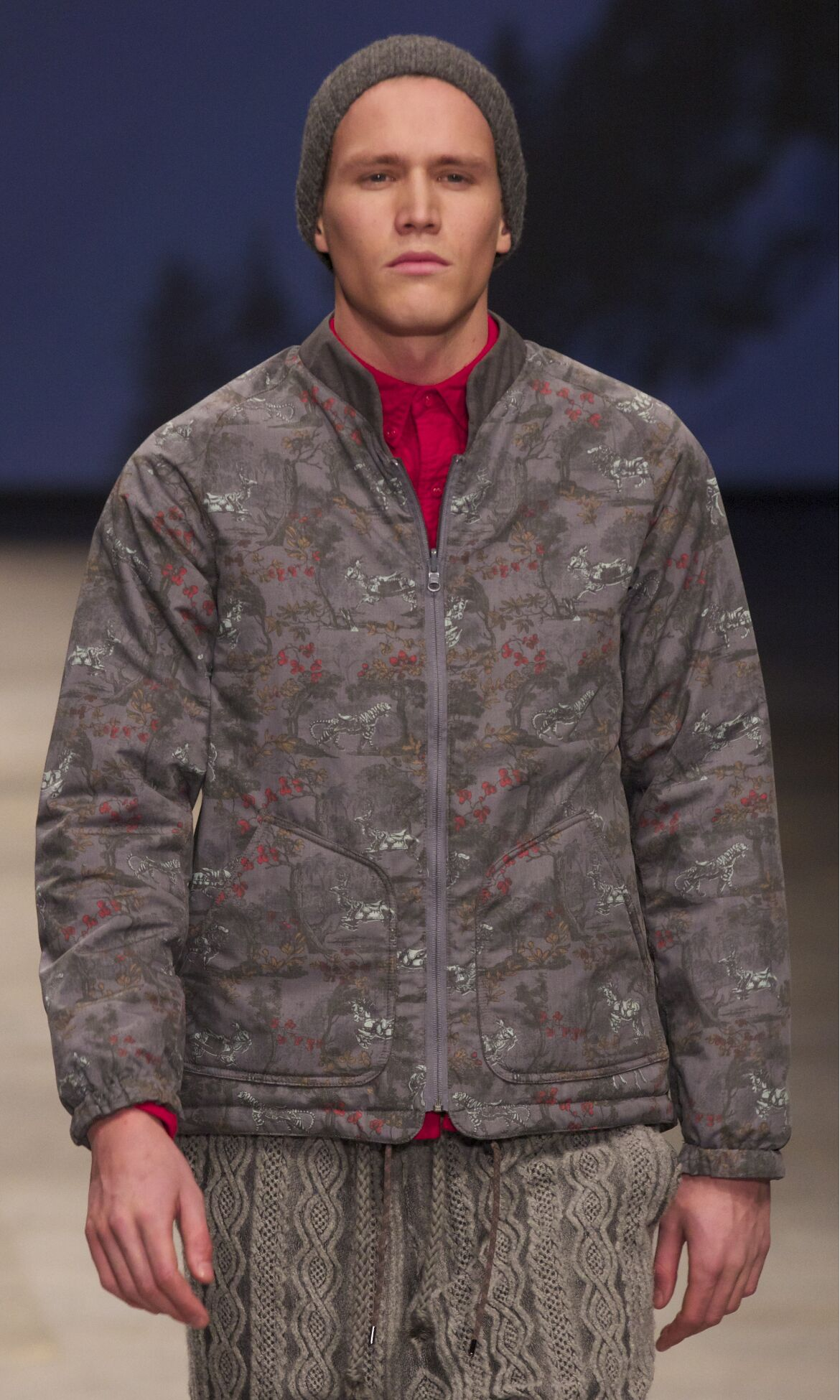 Catwalk White Mountaineering Winter 2013