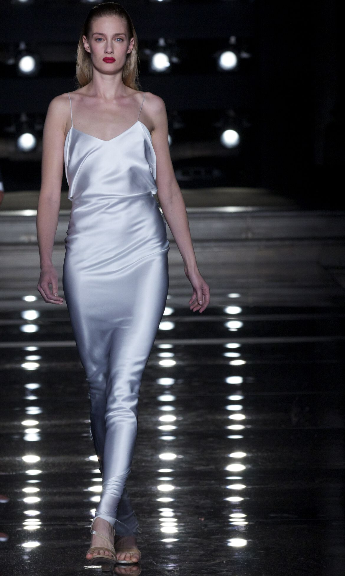 Ermanno Scervino Fashion Model White Dress