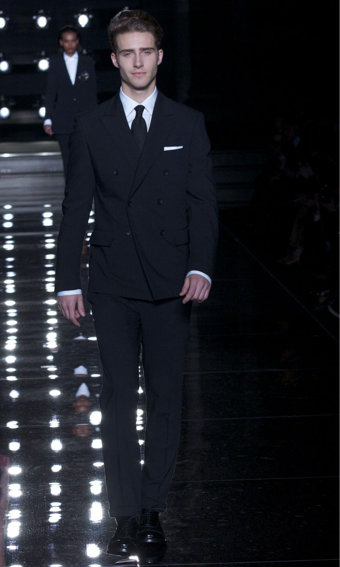 Ermanno Scervino Fashion Show Man Model