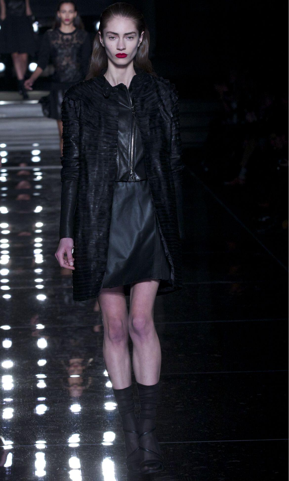 Fall Black Dress Fashion Woman