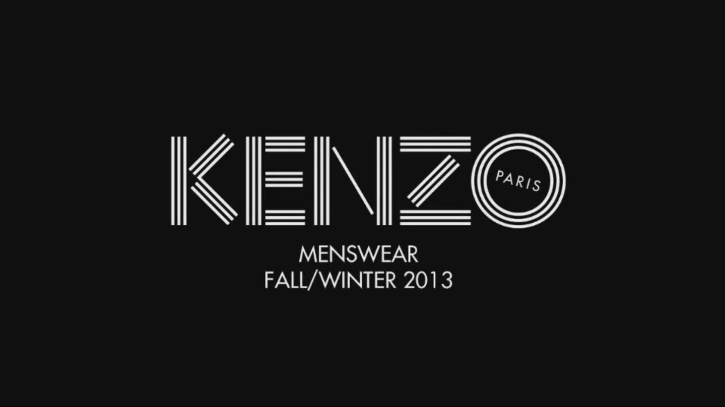Kenzo Fall Winter 2013-14 Men's Fashion Show - Pitti Uomo