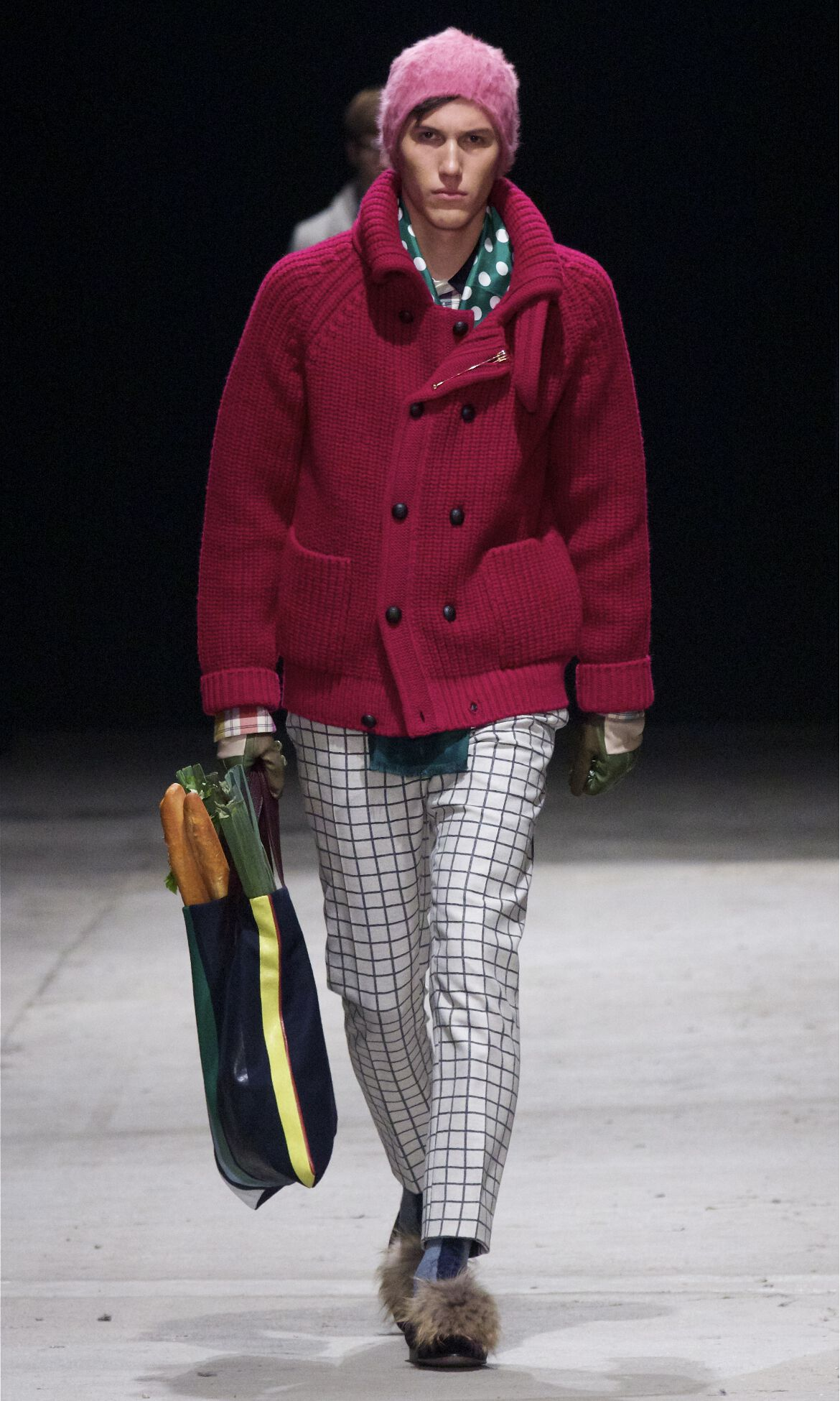 Runway Andrea Pompilio Fall Winter 2013 14 Men Collection Pitti Uomo