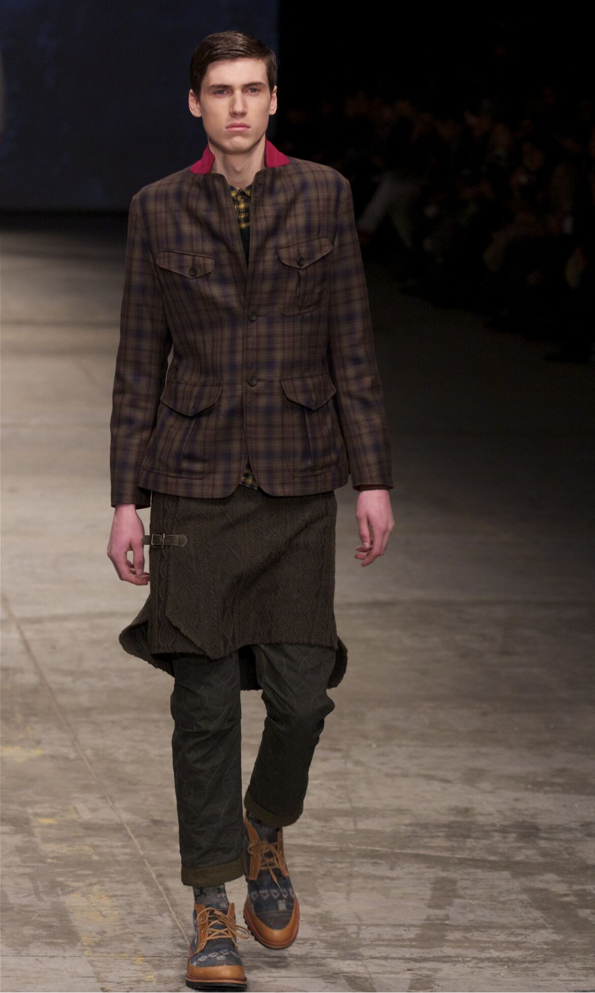 Runway White Mountaineering Fall Winter 2013 14 Men Collection Pitti Uomo
