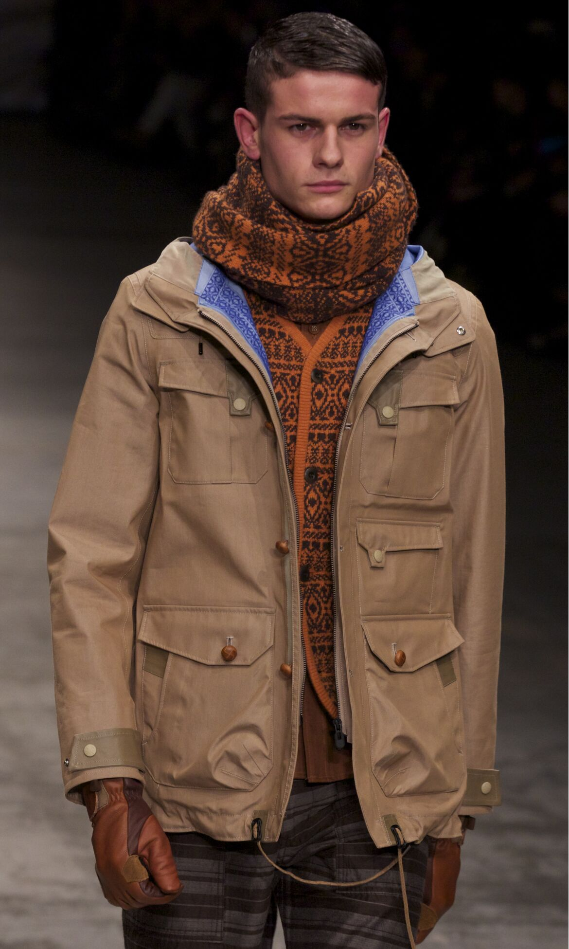 White Mountaineering Fall Winter 2013 14 Men Collection Pitti Uomo Fashion Show