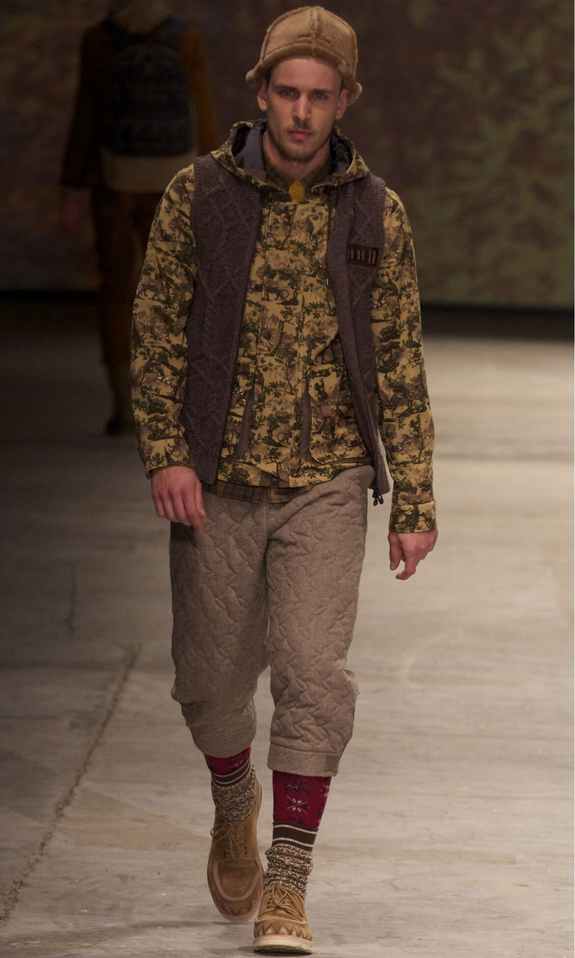 Winter 2013 Fashion Show White Mountaineering