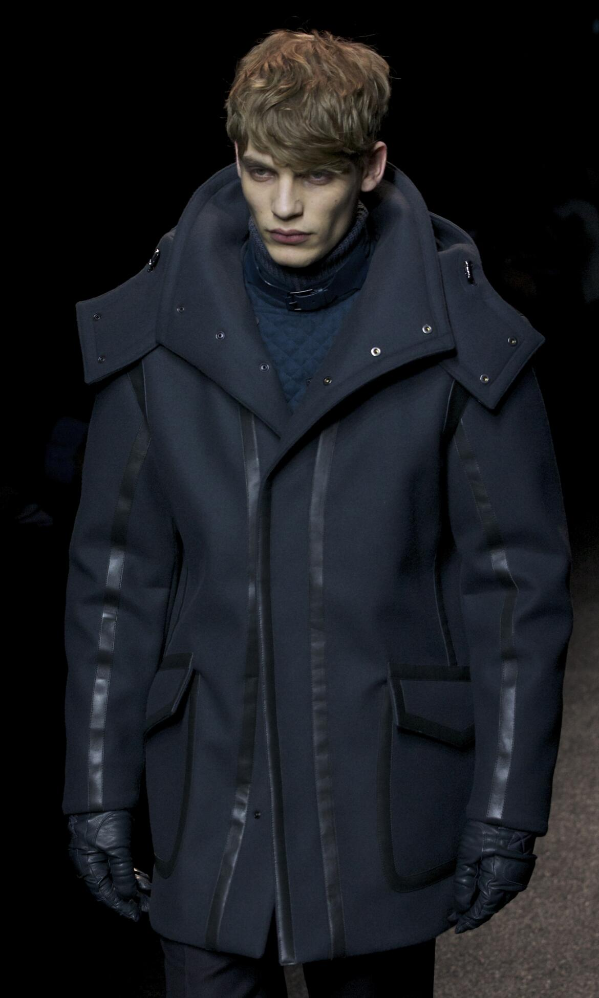 2013 Winter Model Trends Man Salvatore Ferragamo