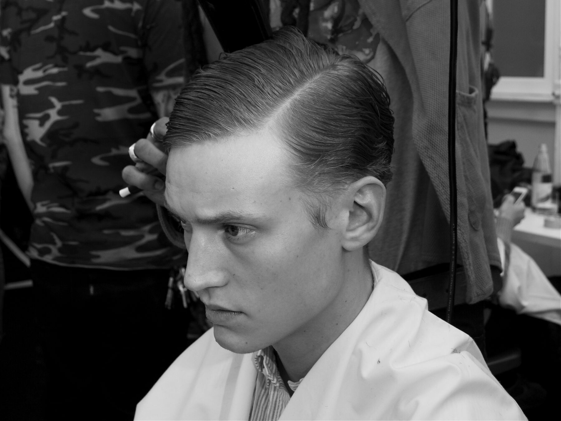 Backstage Hairstylist Corneliani