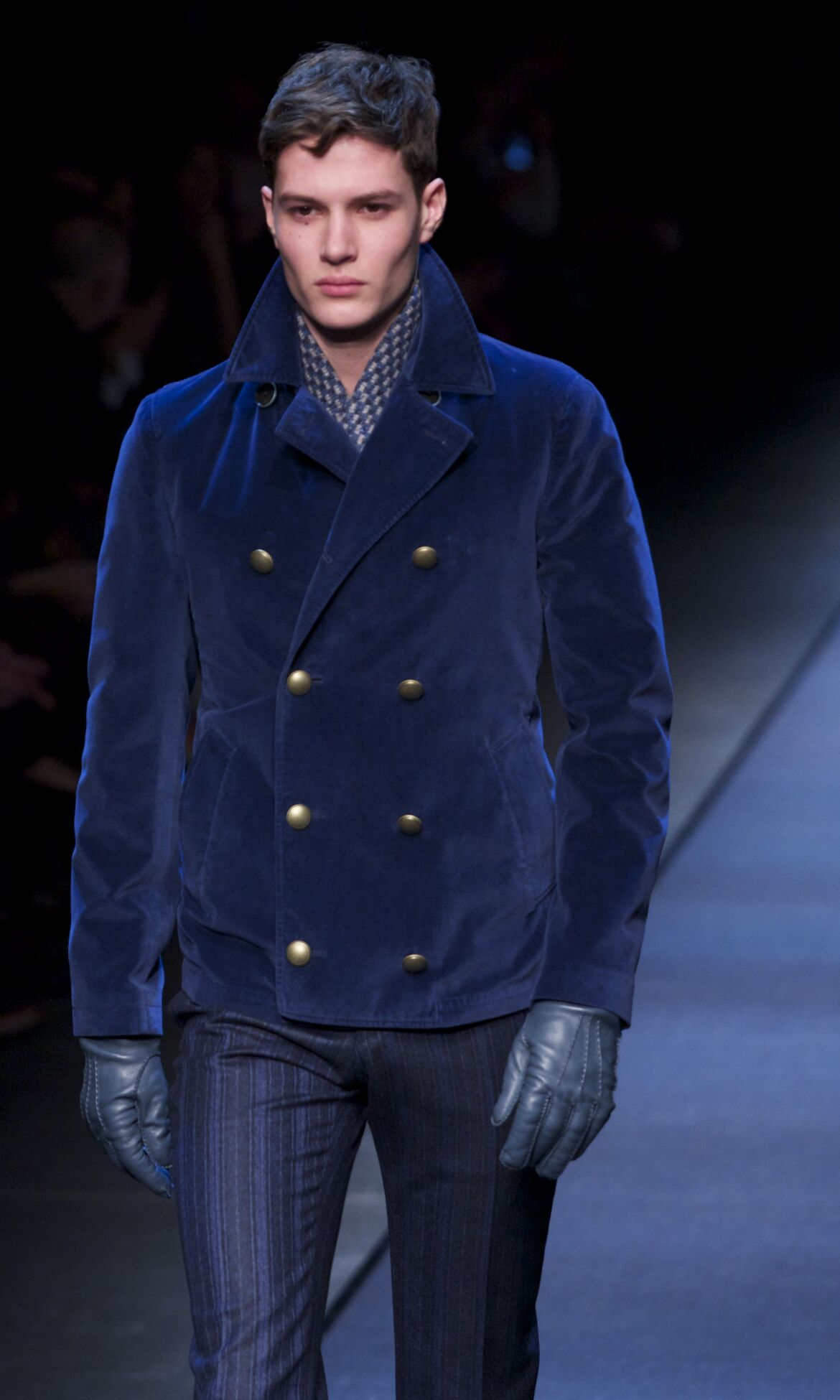 Canali Fashion Model