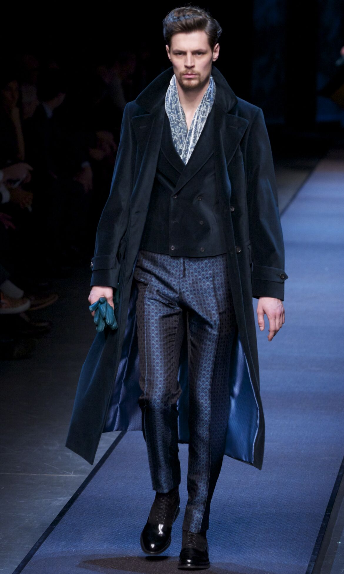 Canali Winter 2013 Catwalk
