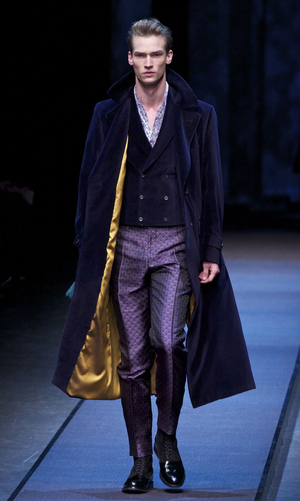 Catwalk Canali Fashion Show Winter 2013