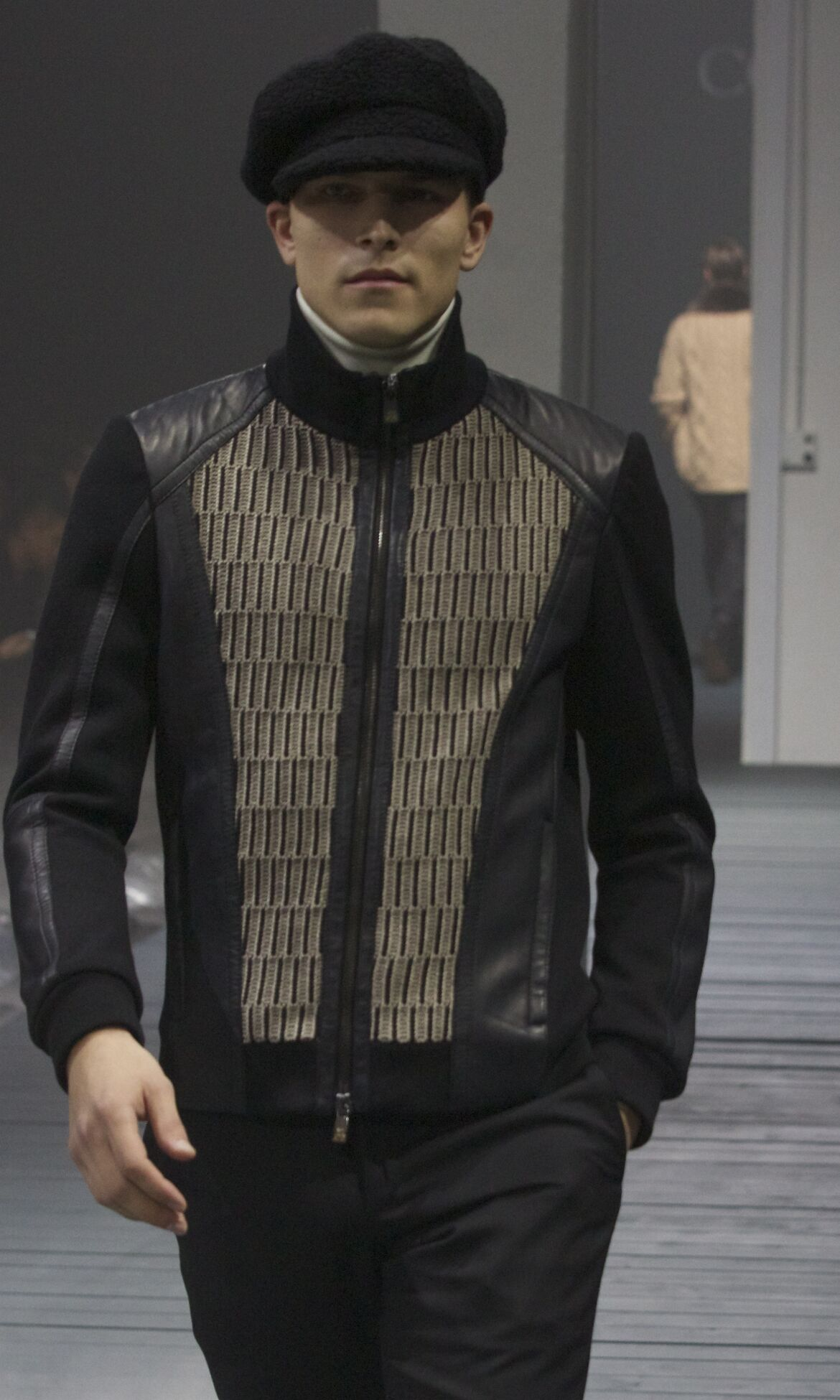 Catwalk Corneliani Fall Winter 2013 14 Men Collection Milano Fashion Week