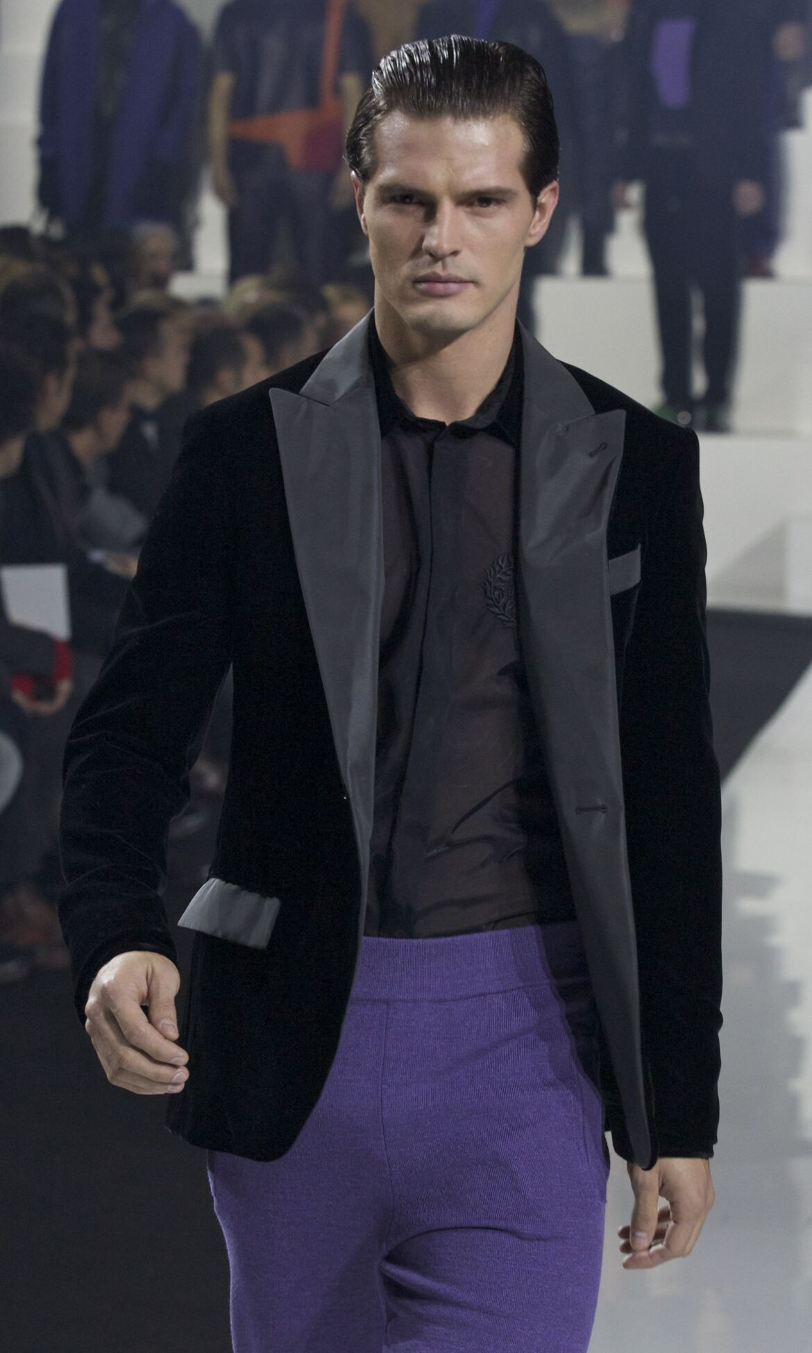 Catwalk Dirk Bikkembergs Fall Winter 2013 14 Men Collection Milano Fashion Week