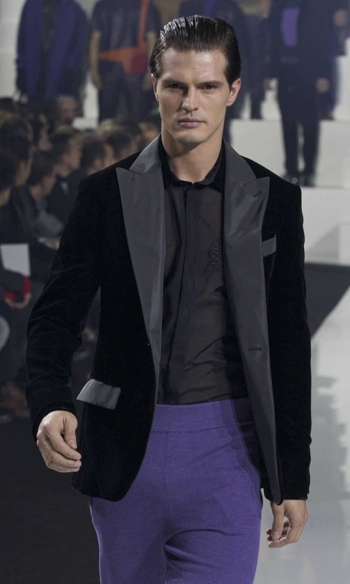 Catwalk Dirk Bikkembergs Fall Winter 2013 14 Men Collection Milano Fashion Week