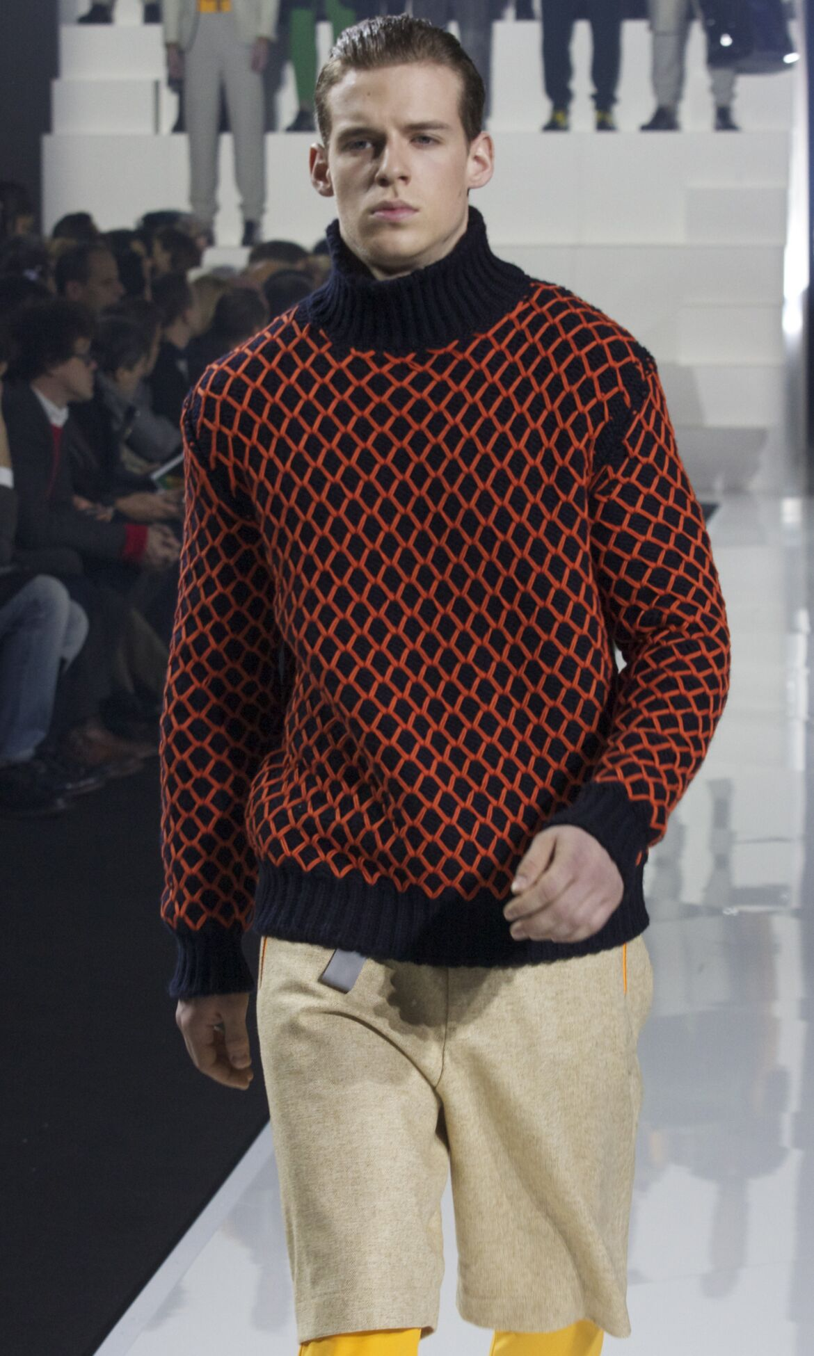 Catwalk Dirk Bikkembergs Fashion Show Winter 2013