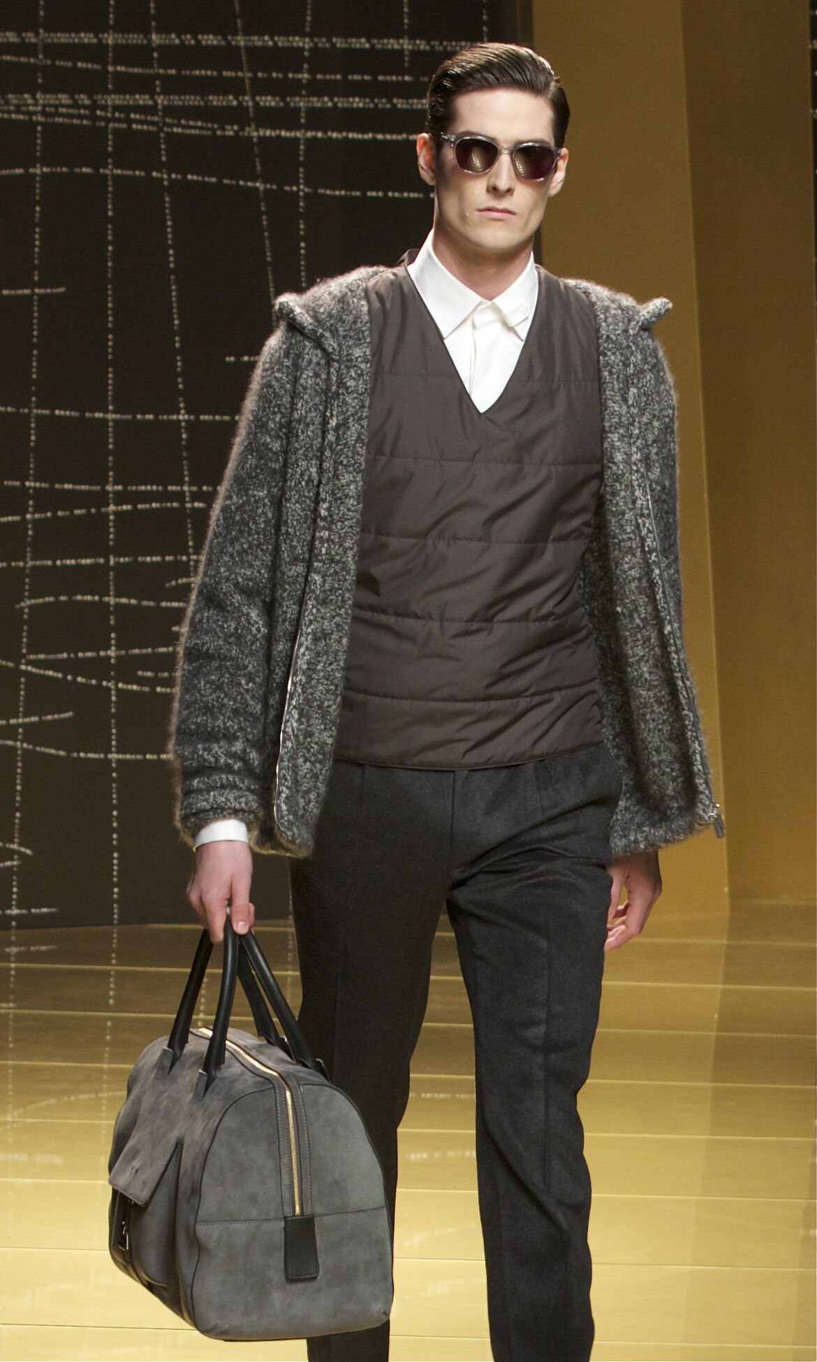 Catwalk Ermenegildo Zegna Winter 2013