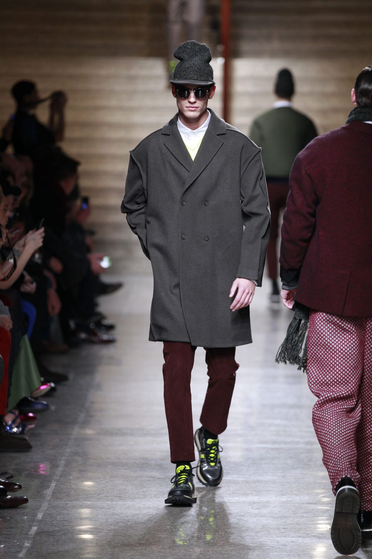 Catwalk Frankie Morello Fall Winter 2013 14 Men Collection Milan Fashion Week
