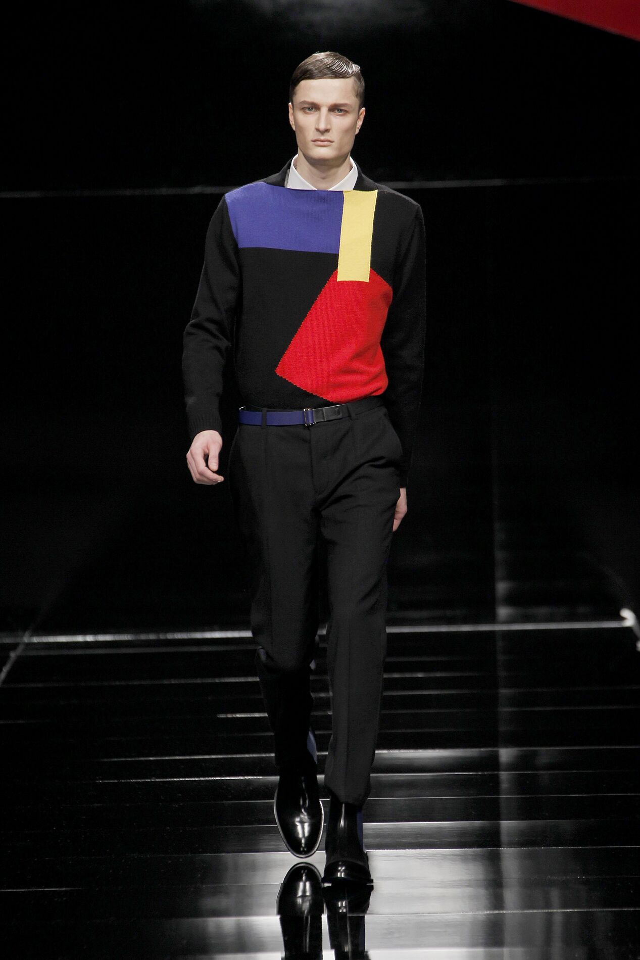 Catwalk Iceberg Fall Winter 2013 14 Men Collection Milan Fashion Week