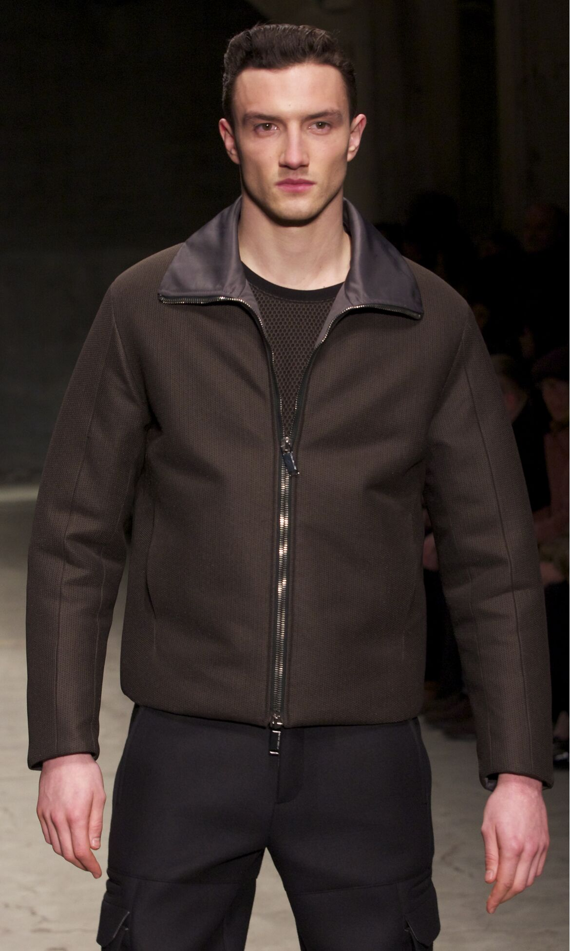 Catwalk Joseph Abboud Fall Winter 2013 14 Men Collection Pitti Uomo