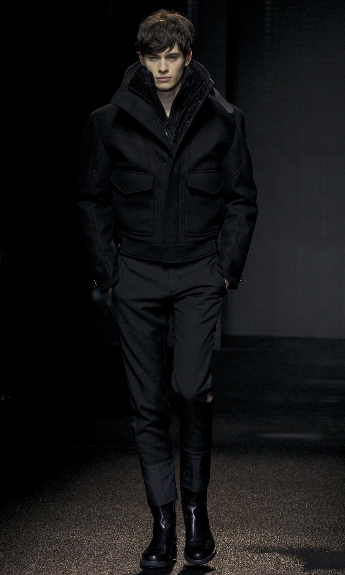 Catwalk Salvatore Ferragamo Fall Winter 2013 14 Men Collection Milan Fashion Week