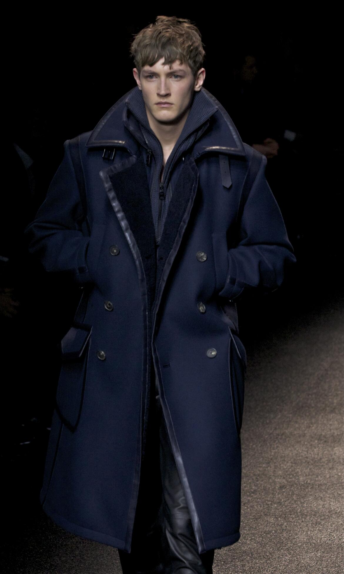 Catwalk Salvatore Ferragamo Fashion Show Winter 2013 2014 Menswear