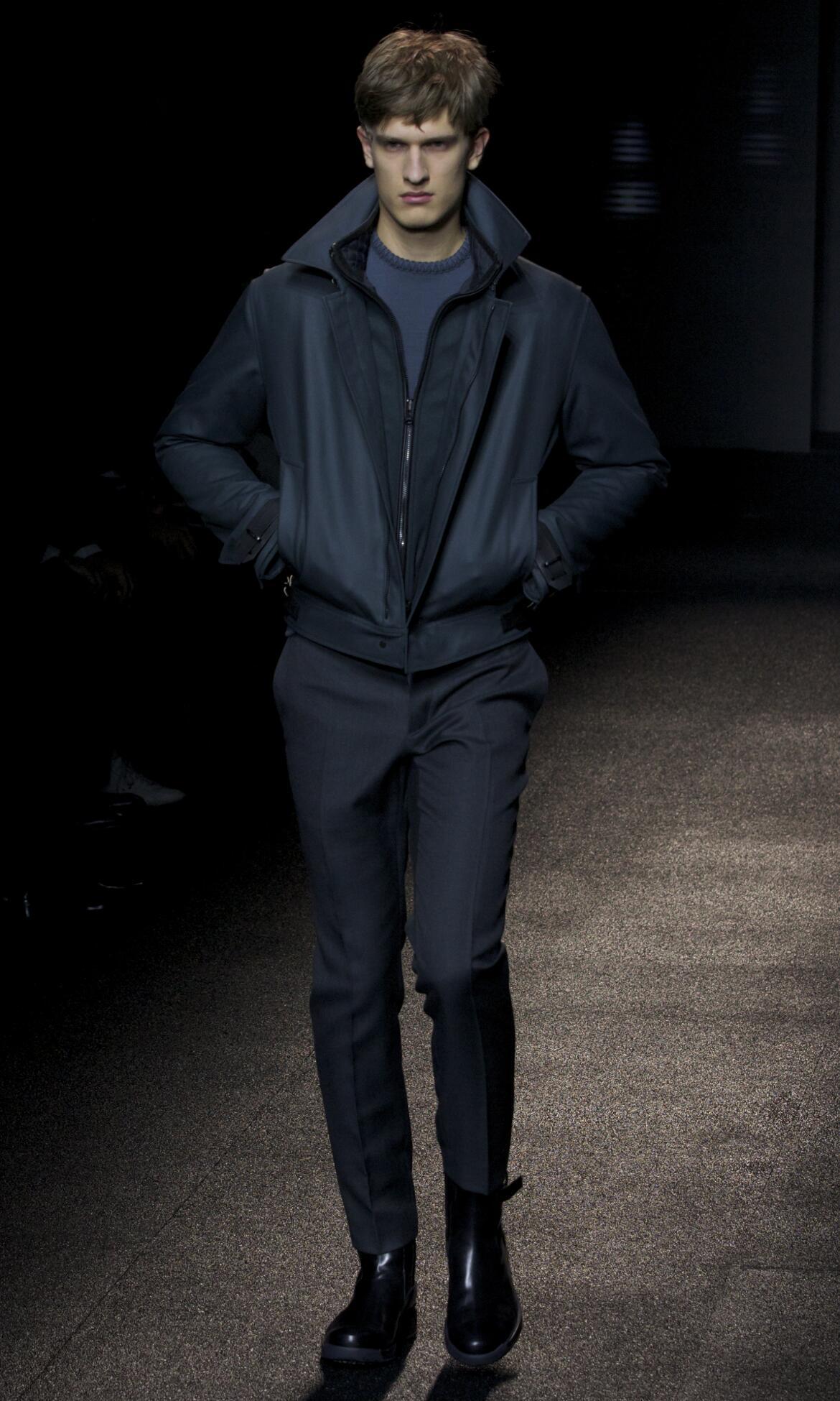 Catwalk Salvatore Ferragamo Fashion Show Winter 2013 2014
