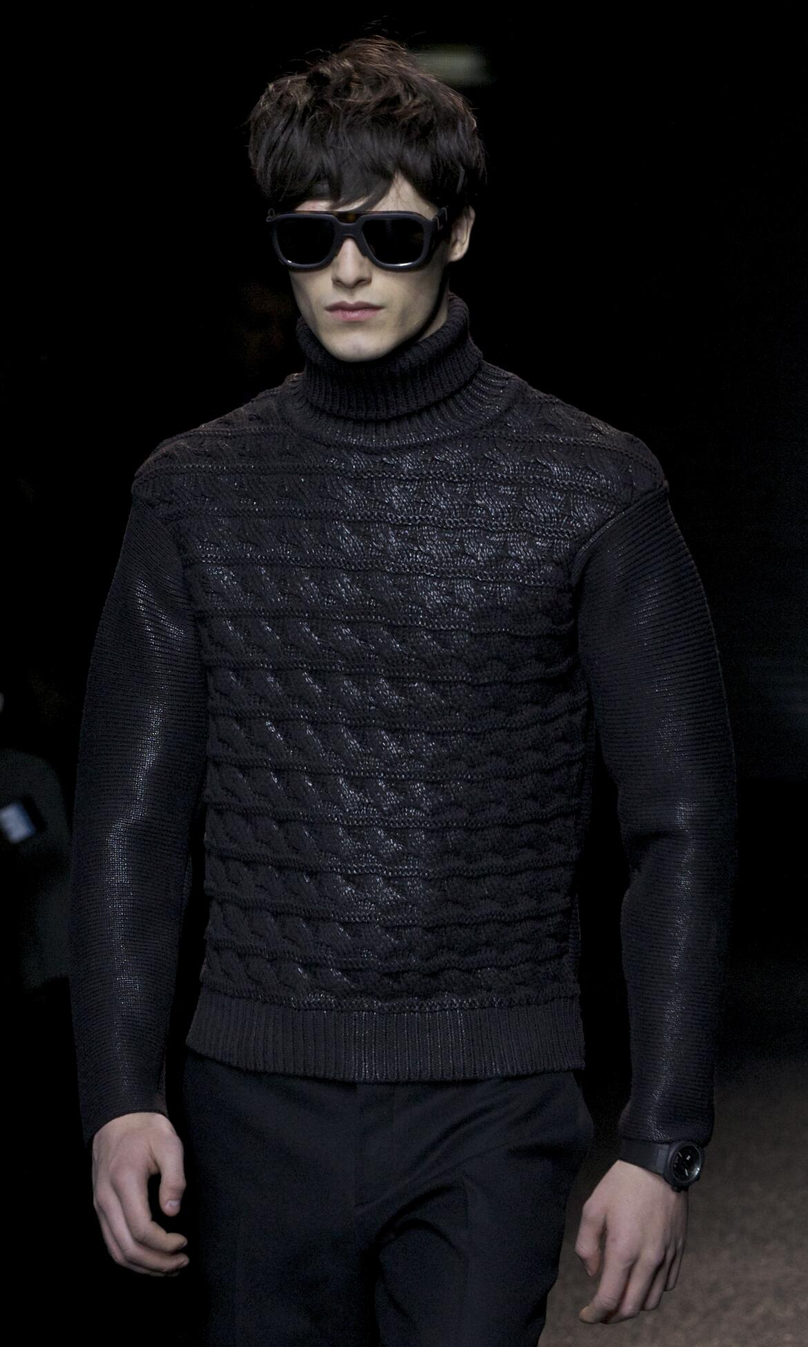 Catwalk Salvatore Ferragamo Fashion Show Winter 2013 Menswear