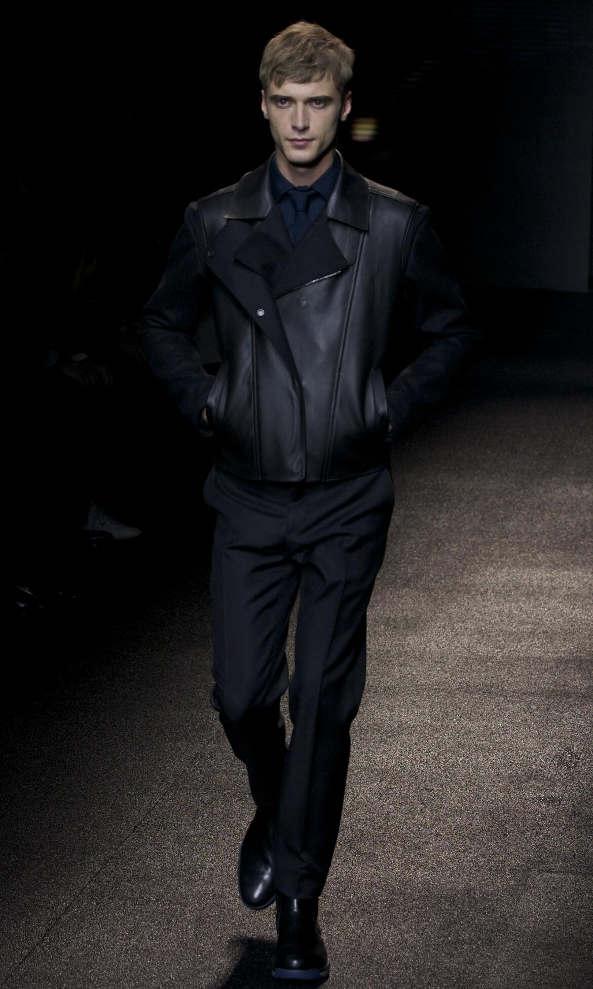 Catwalk Salvatore Ferragamo Fashion Show Winter 2013