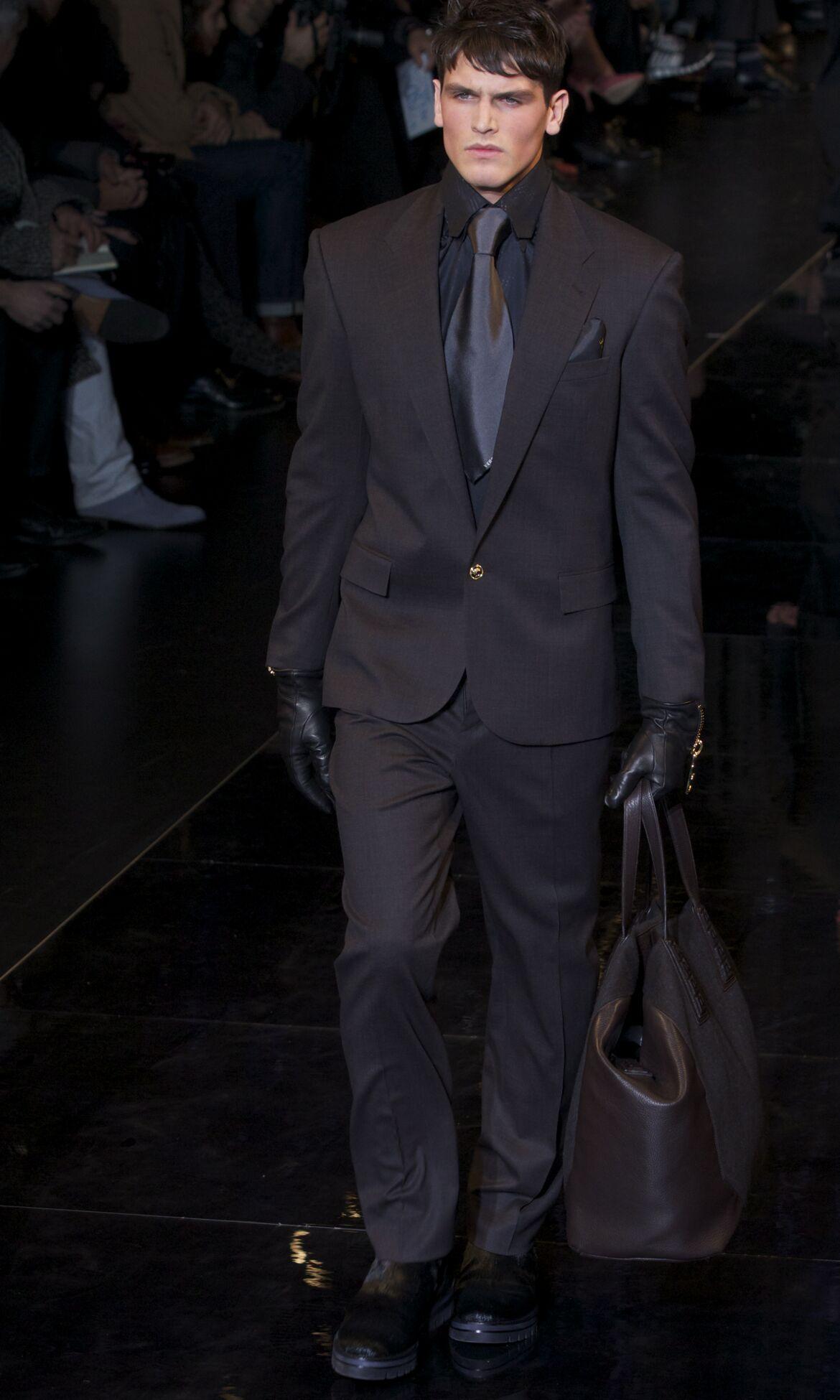 Catwalk Versace Fashion Show Winter 2013