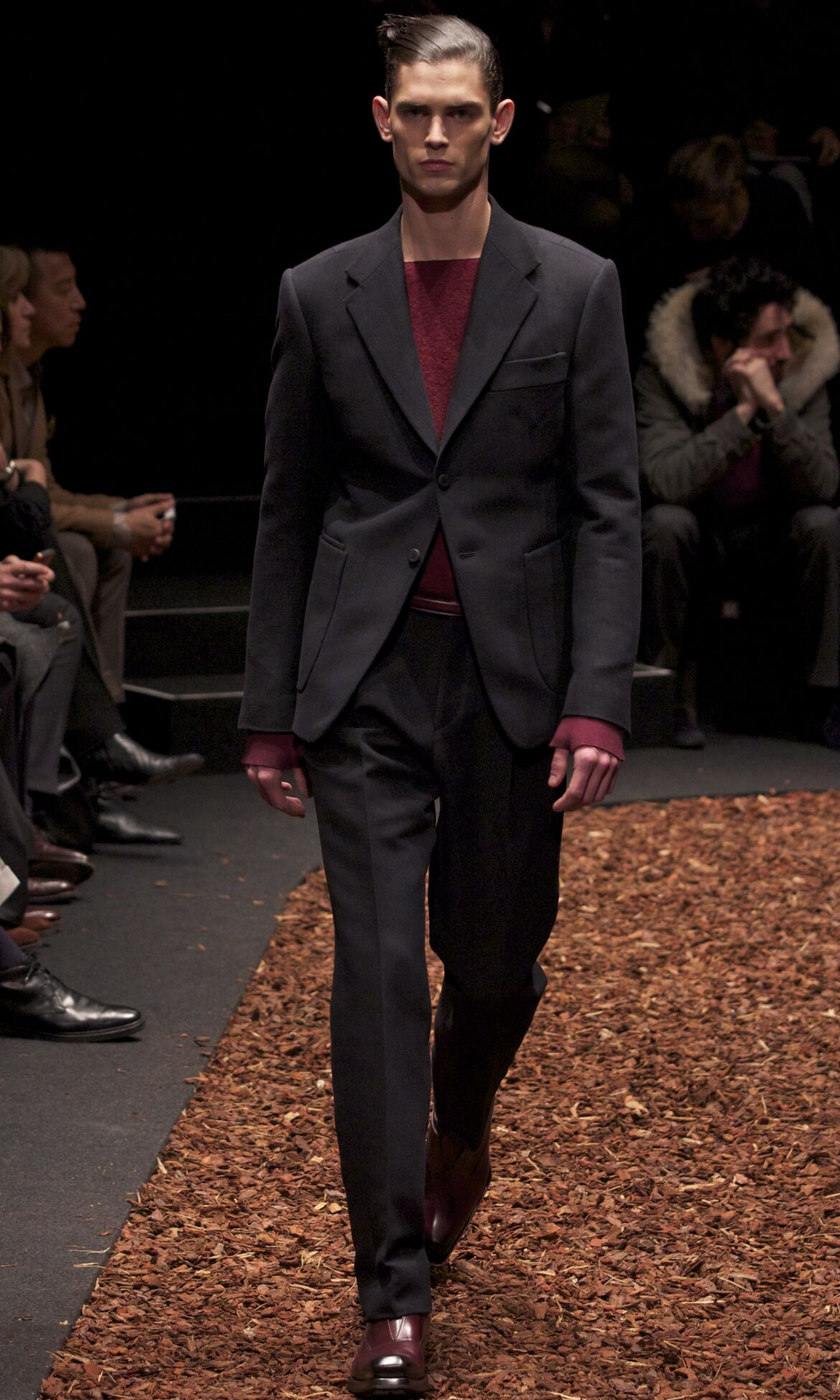 Catwalk Z Zegna Fall Winter 2013 14 Men Collection Milan Fashion Week