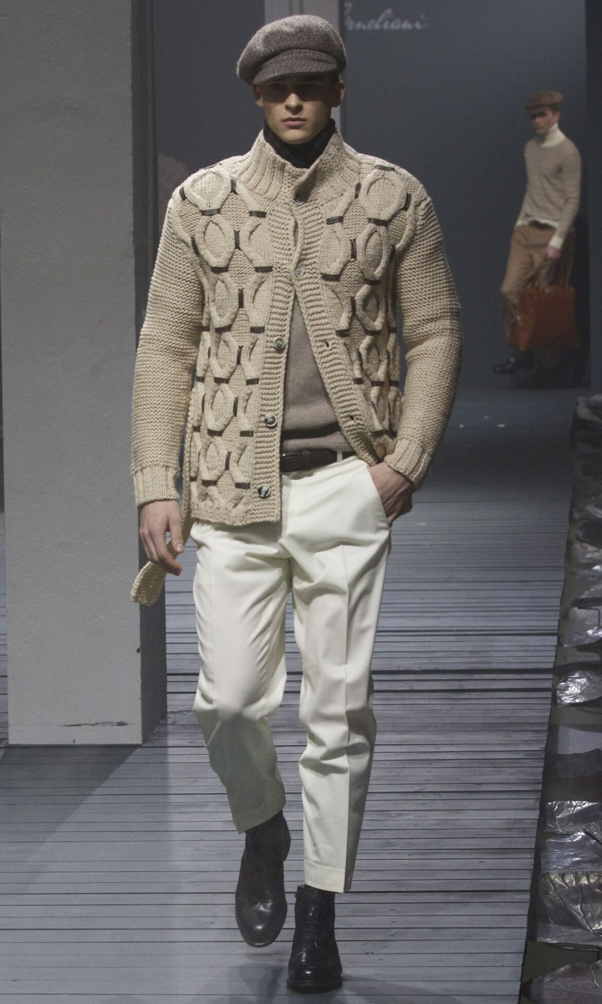 Corneliani Fall 2013 Catwalk