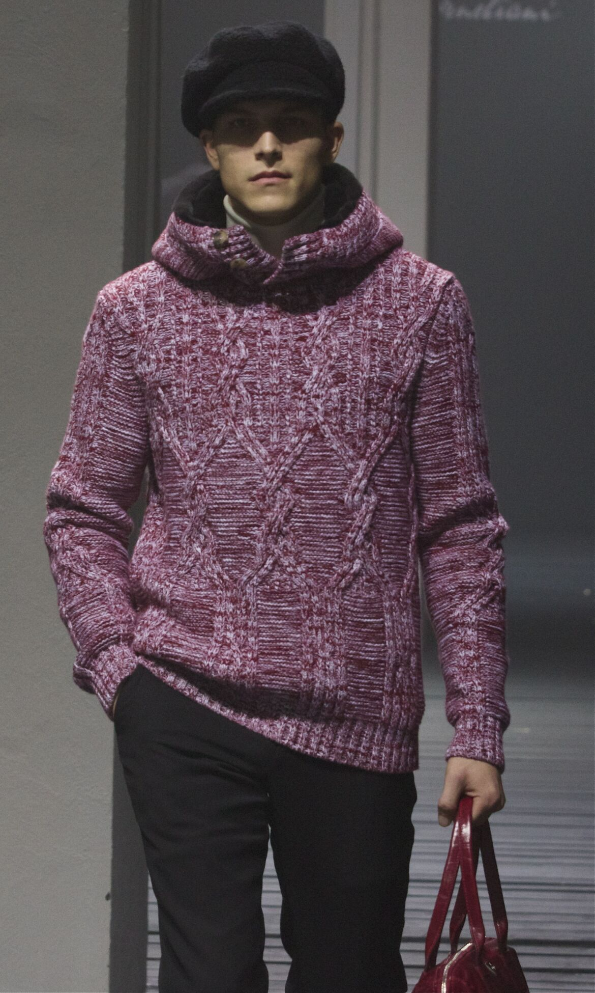 Corneliani Fall Winter 2013 14 Men Collection Milan Fashion Week Fashion Show