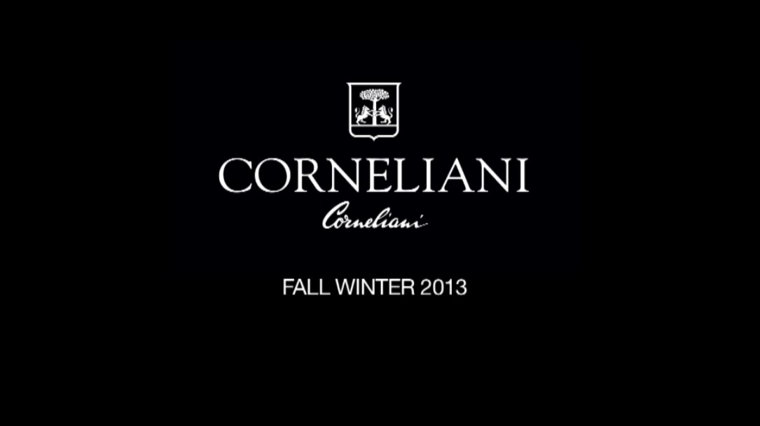Corneliani Fall Winter 2013-14 Men's Fashion Show - Milan Fashion Week