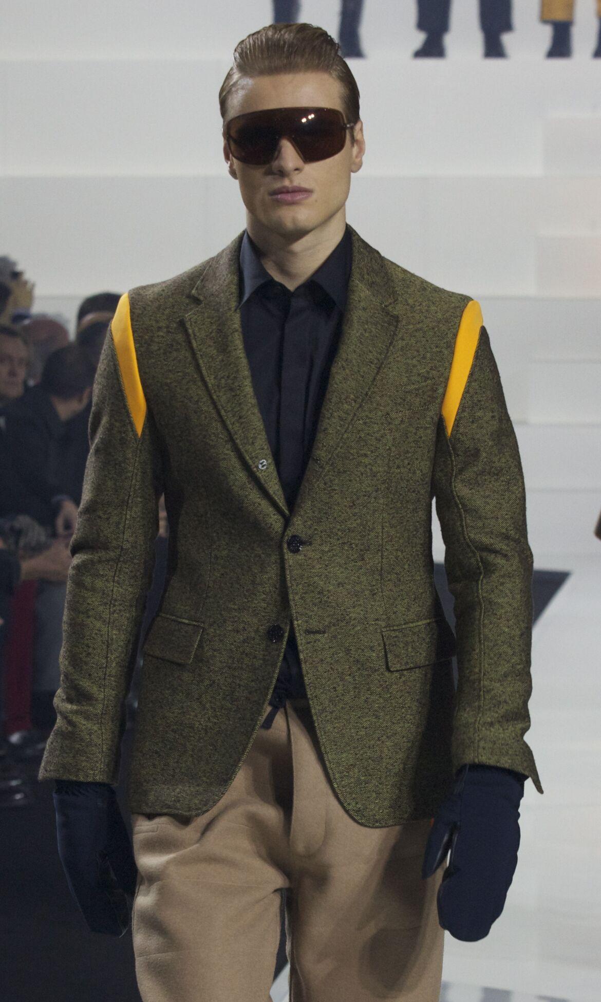 Dirk Bikkembergs Fall Winter 2013 14 Men Collection Milan Fashion Week Fashion Show