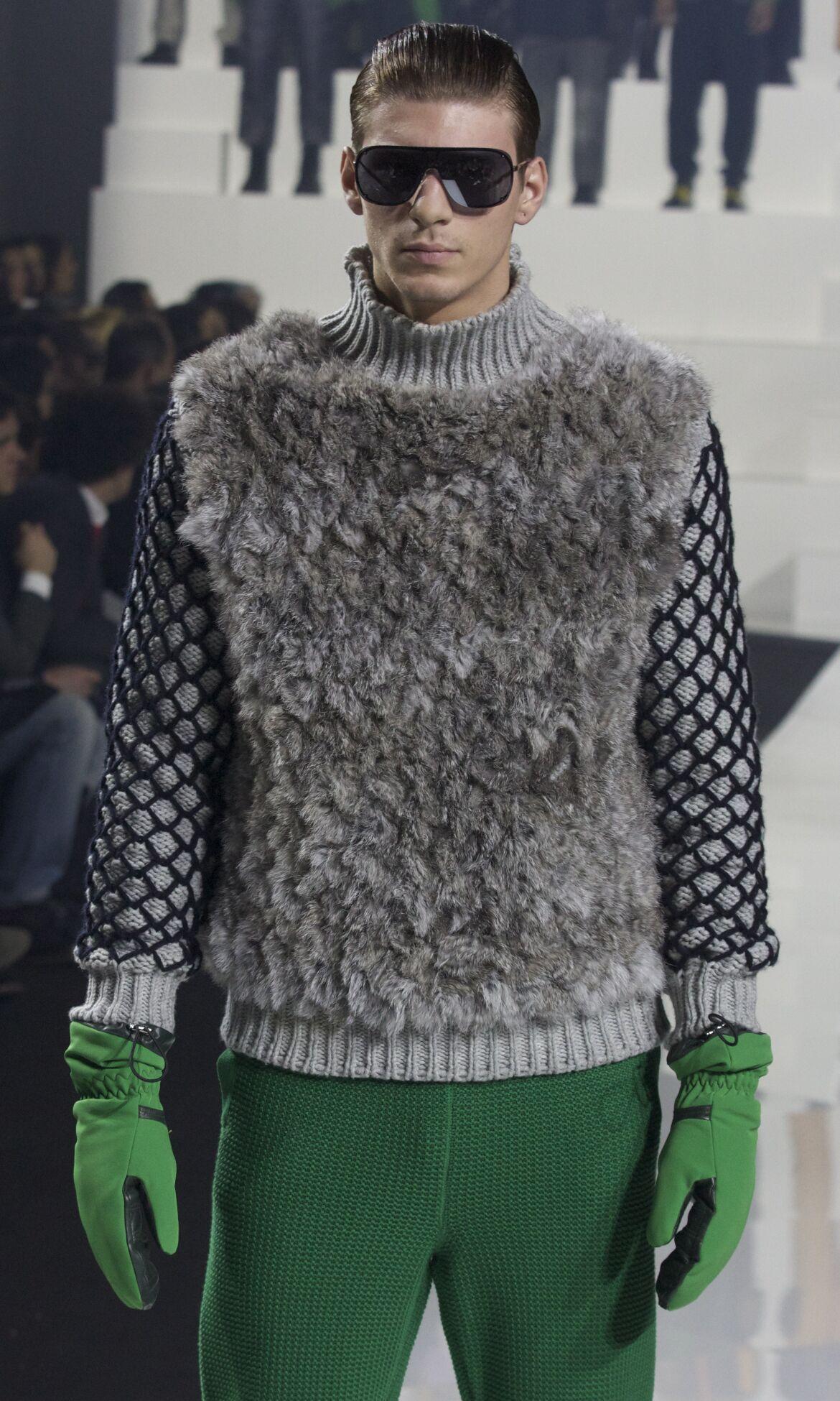 Dirk Bikkembergs Fashion Model