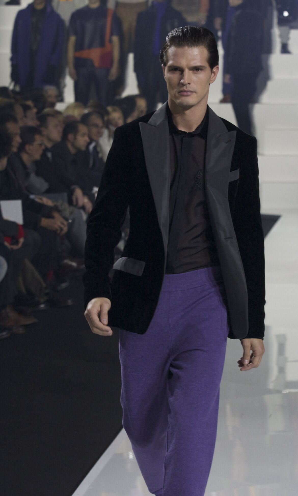 Dirk Bikkembergs Fashion Show 2013 2014