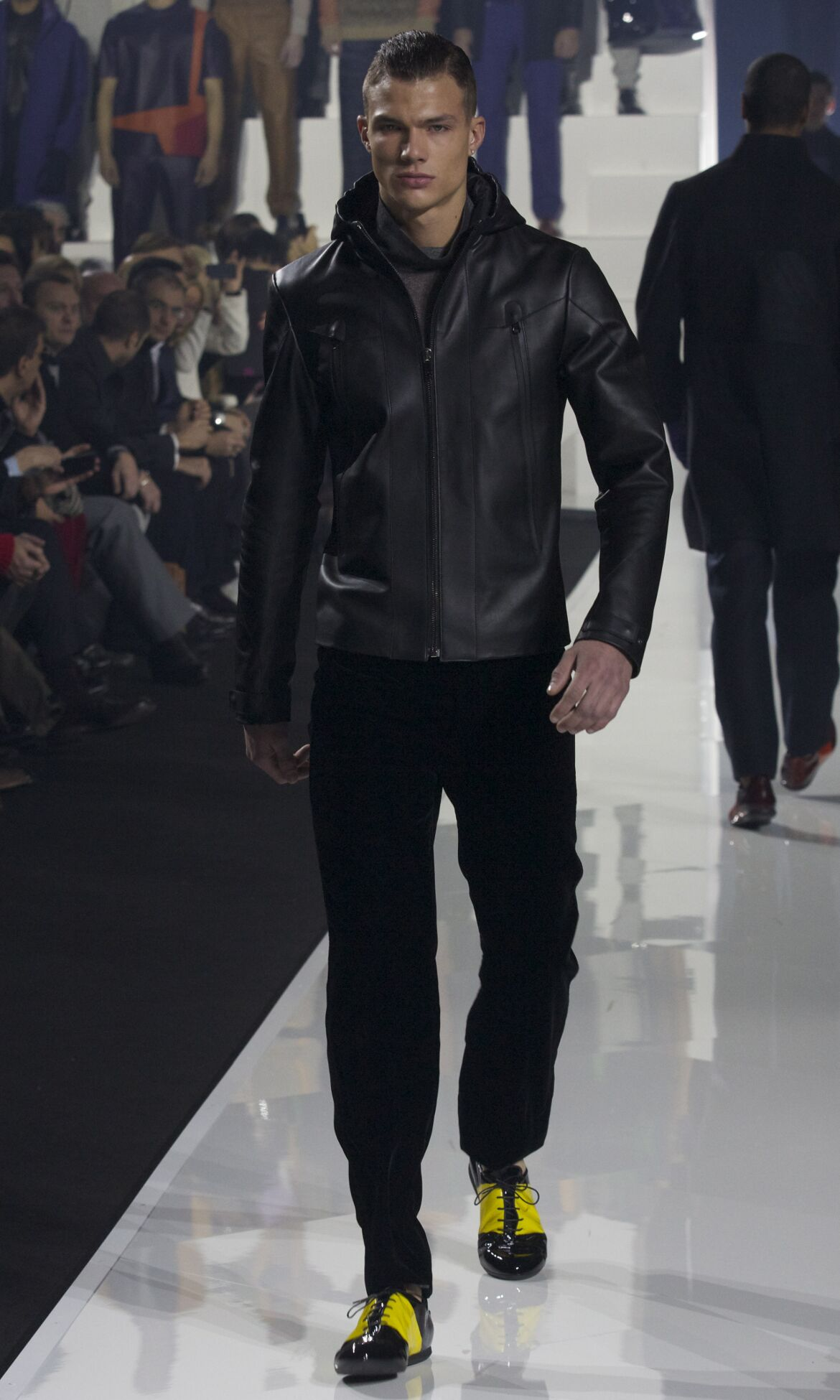 Dirk Bikkembergs Fashion Show 2013 Milan Fashion Week