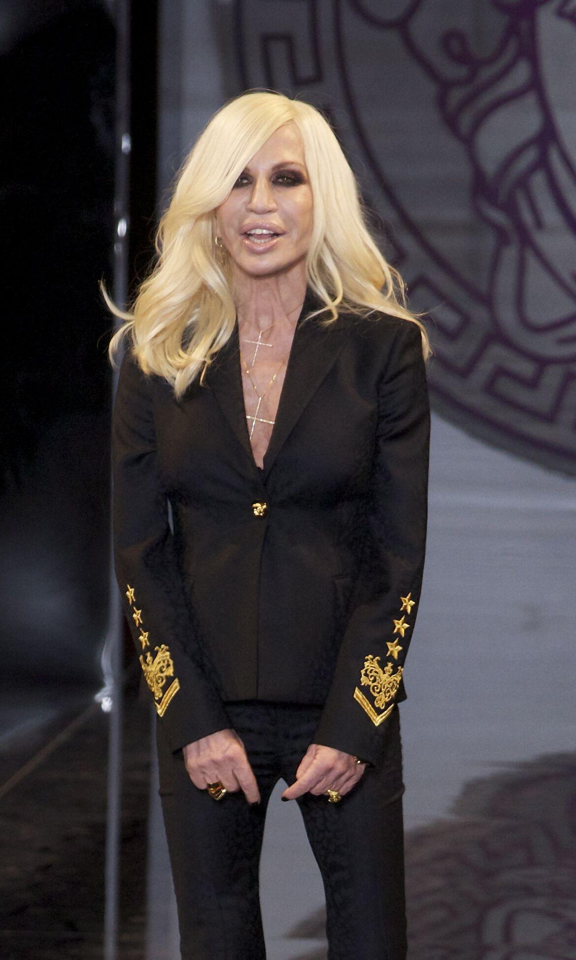 Donatella Versace 2013