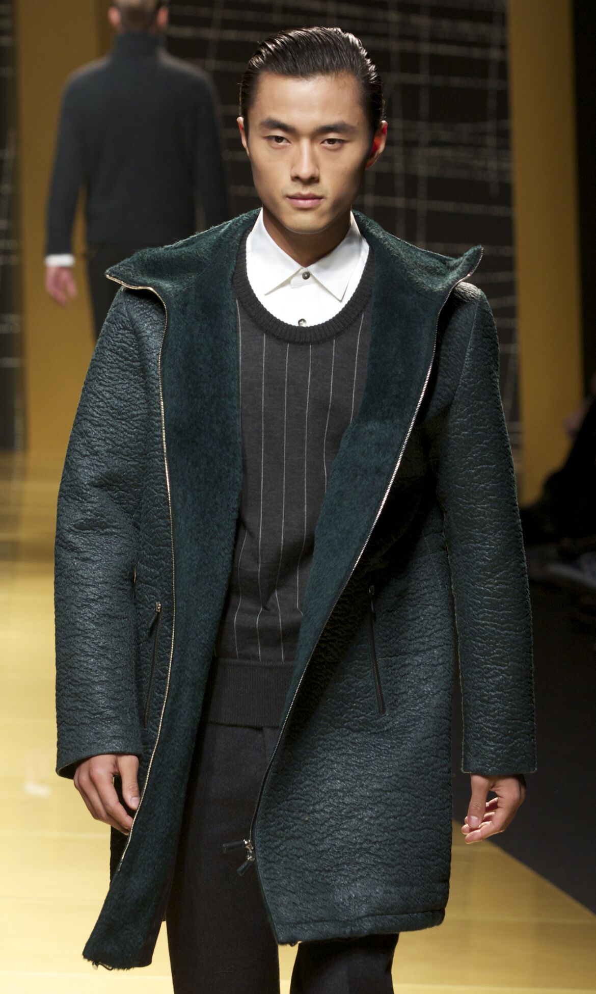 Ermenegildo Zegna Fall Winter 2013 14 Men Collection Milan Fashion Week Fashion Show
