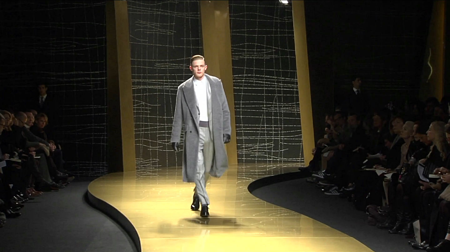 Ermenegildo Zegna Fall Winter 2013-14 Men's Fashion Show - Milan Fashion Week