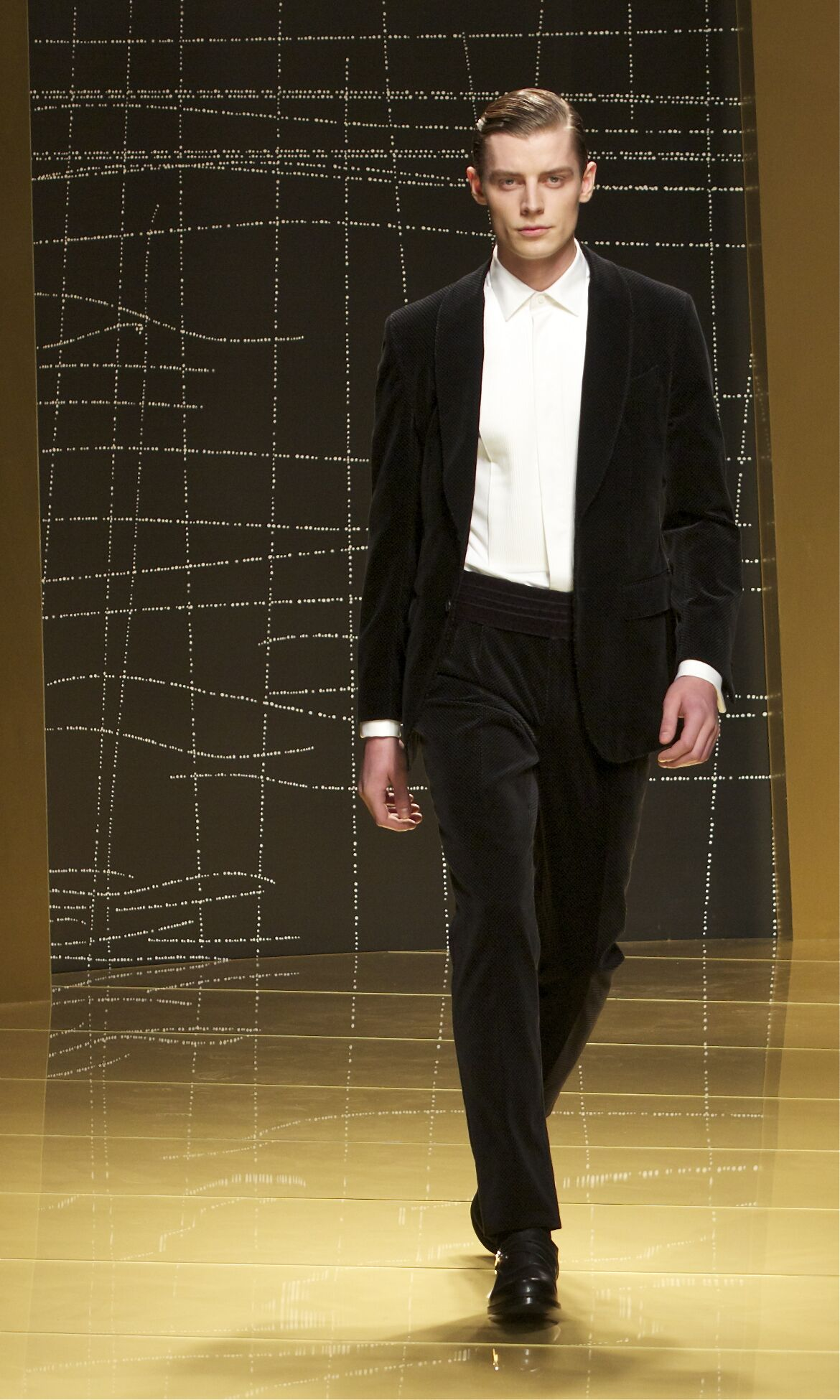 Ermenegildo Zegna Winter 2013 Catwalk