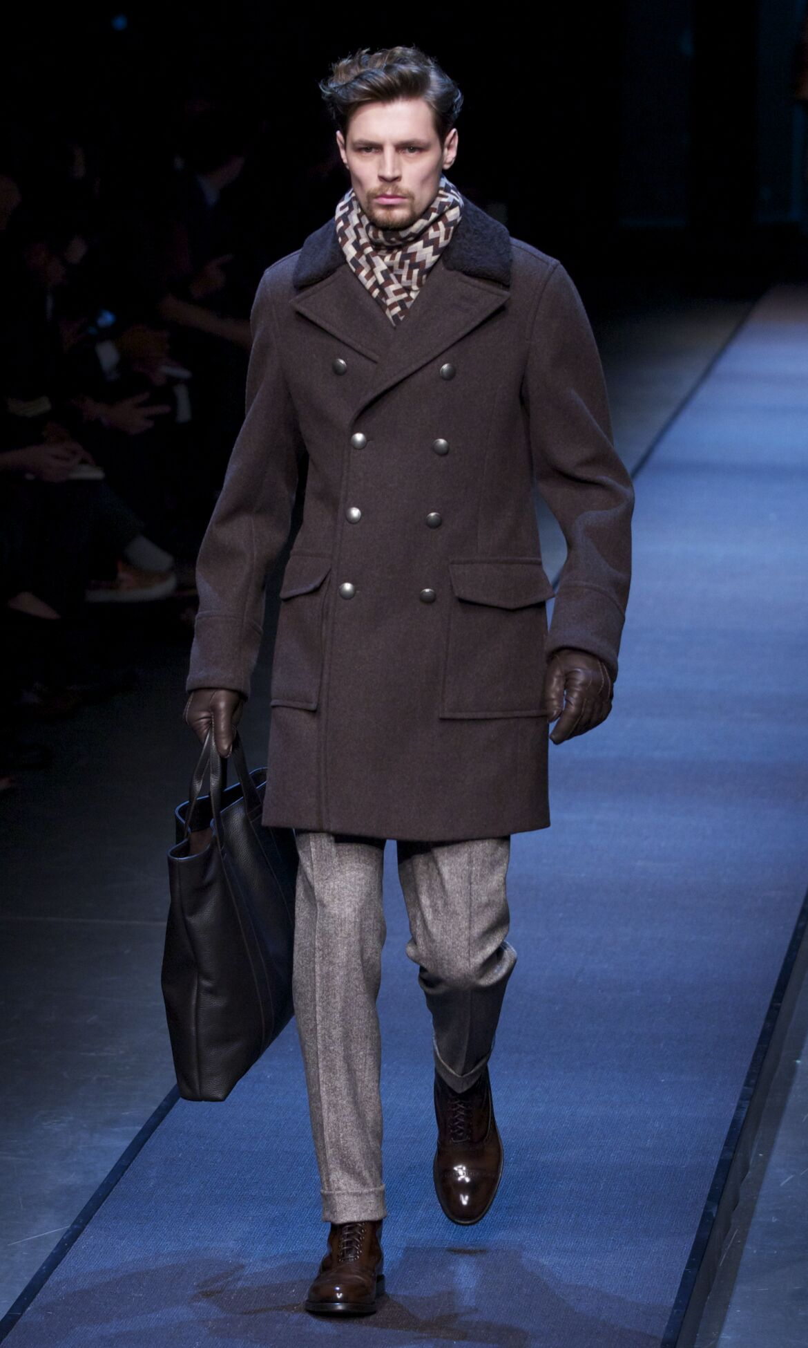Mens Clothes Fall 2014 Winter Man Canali