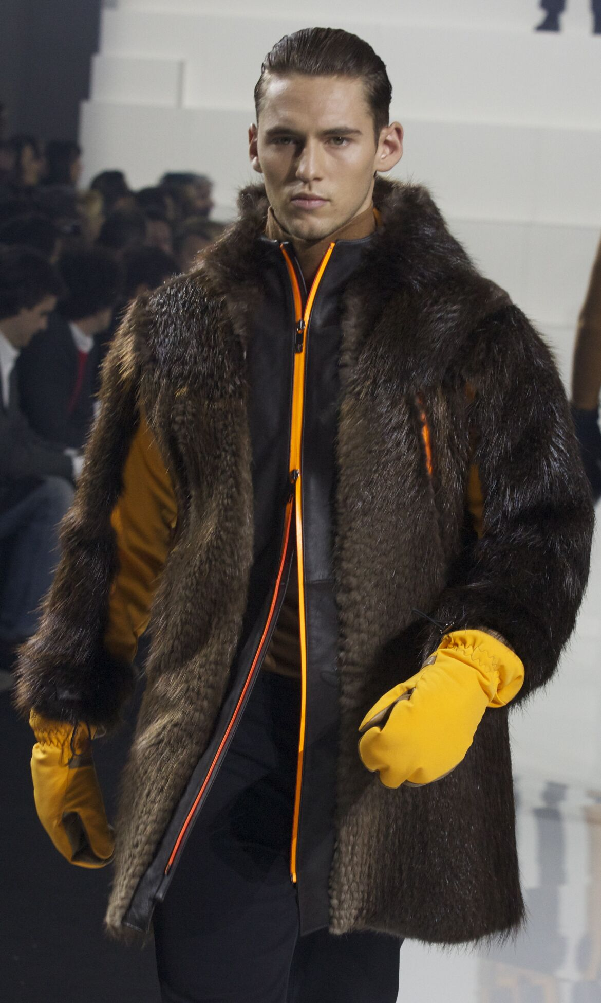 Fall 2014 Men Fashion Show Dirk Bikkembergs